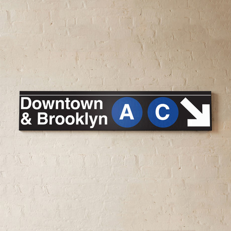 Downtown & Brooklyn // A + C Lines