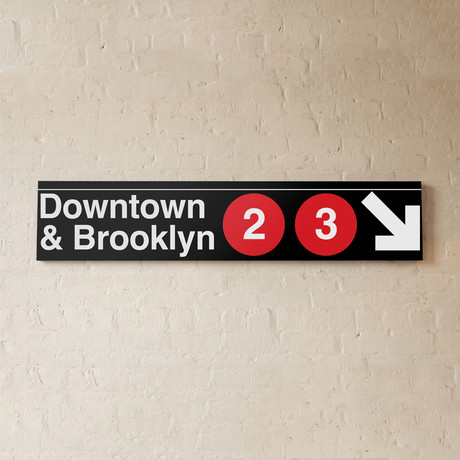 Downtown & Brooklyn // 2 + 3 Lines
