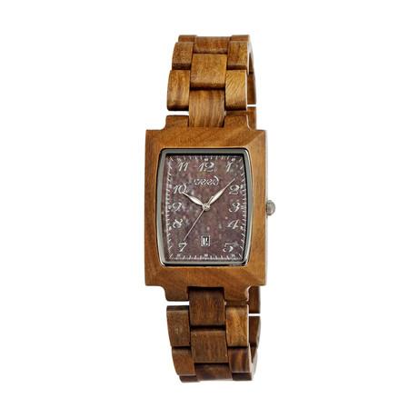 Mens & Ladies Olive Cork Wood Watch