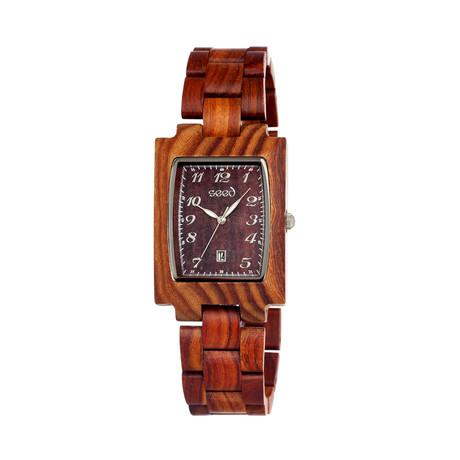 Mens & Ladies Brown Cork Wood Watch