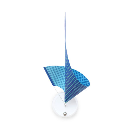 Manifold Clock // Swedish Blue 30''