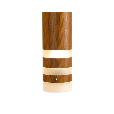 Legna Medium Table Lamp // Teak Wood Veneer