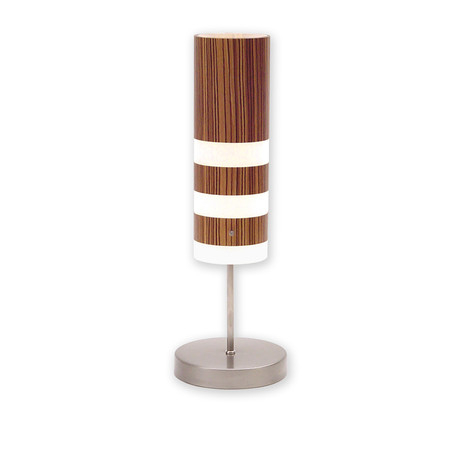 Legna Small Table Lamp // Zebrawood