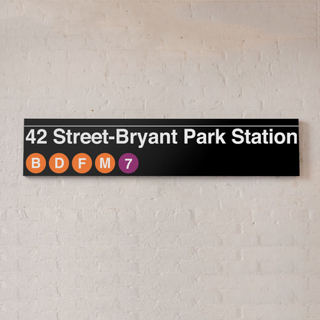 42nd Bryant Park