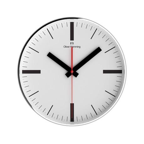 Chrome Wall Clock // W303SSTAT