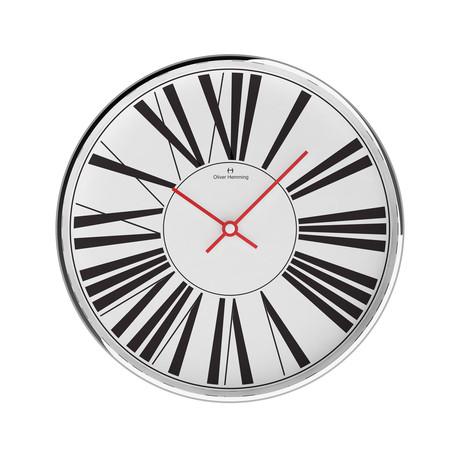 Chrome Wall Clock // W303S53W