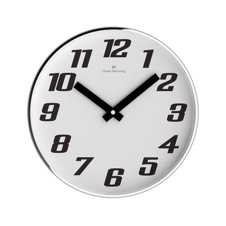 Chrome Wall Clock // W303S41WB