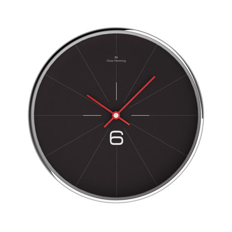 Chrome Wall Clock // W303S26B