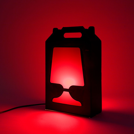 Flamp Noir (Red)