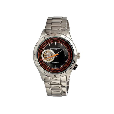 Traveler Men's Watch // Black & Silver