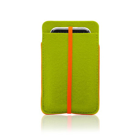iPhone 5 Sleeve // Lime