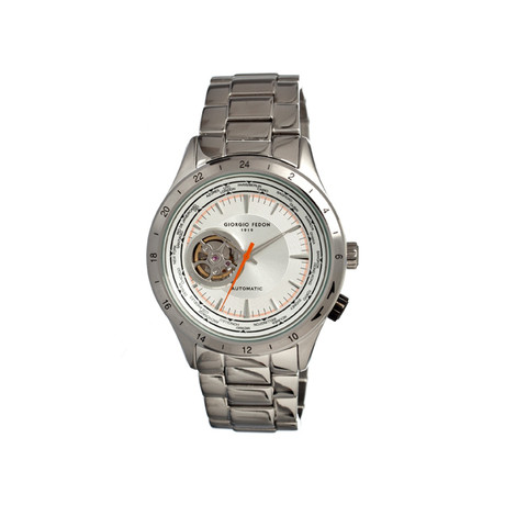 Traveler Men's Watch // Silver