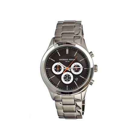 Vintage V Men's Watch // Silver