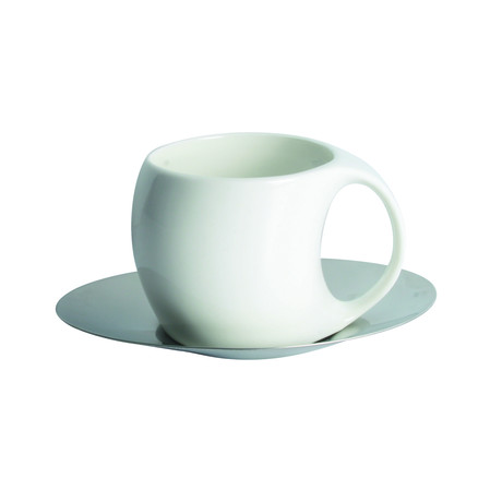 Oval Cup & Saucer