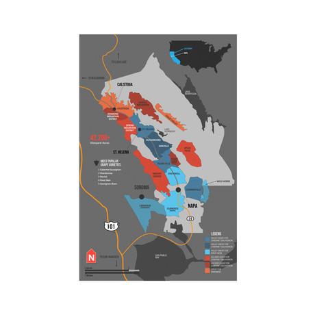 Napa Valley Map