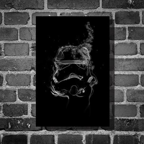 """Star Wars // Harshness // Storm Trooper (16""""L x 12""""H)"""