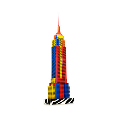 Empire State Building Pop-Art Edition