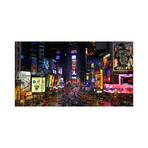 """Times Square (15""""W x 8.25""""H)"""