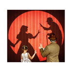 "Fun With Hand Shadows (15""W x 13.5""H)"