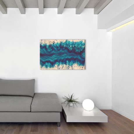 """River Of Earth (26""""W x 18""""H x 0.75""""D)"""
