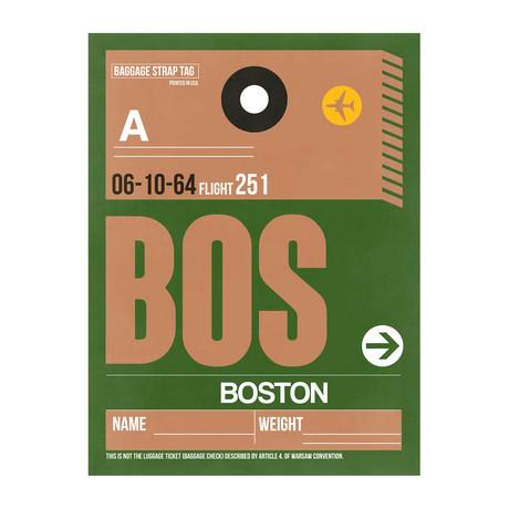BOS Boston Luggage Tag