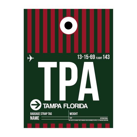 TPA Tampa Luggage Tag