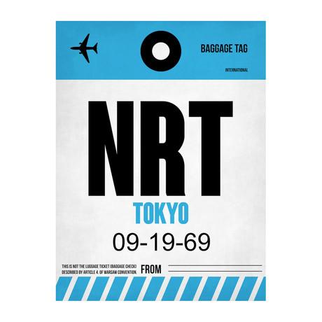 NRT Tokyo Luggage Tag