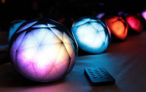 Glowing Diamond Speakers