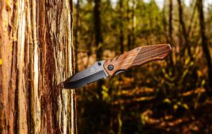 Wood Handled Knives