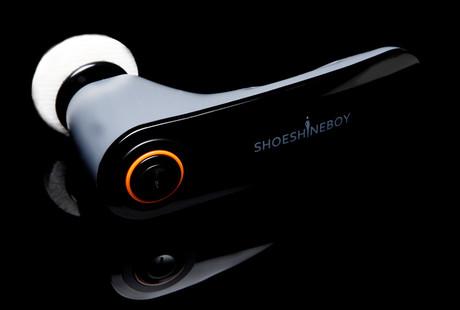 The Compact Shoe Shine Device