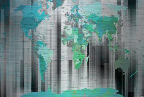 Artistic World Maps