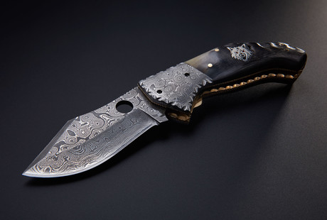 Damascus Knives By Brian Yellowhorse