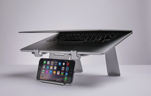 Laptop Stand And Phone Holder