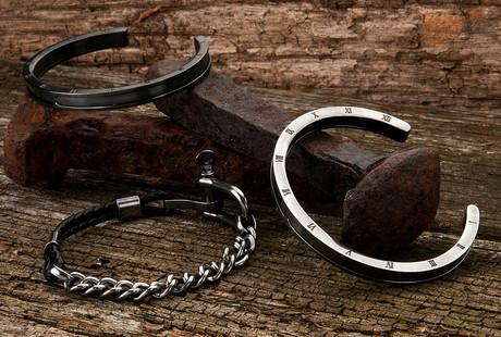 Steel & Leather Jewelry