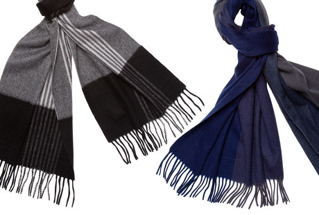 Luxurious Cashmere + Wool Scarves
